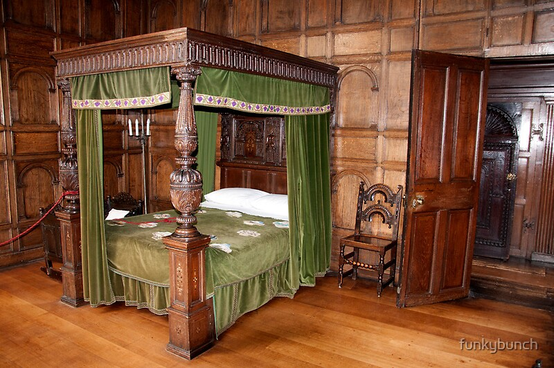 Tudor Bedroom By Funkybunch Redbubble