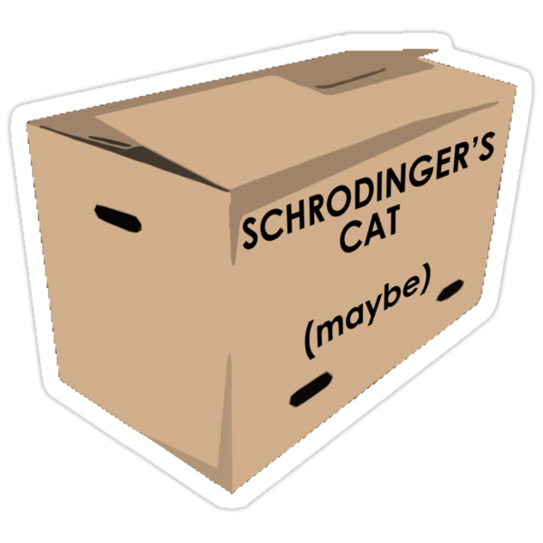 "Image result for ""schrodinger's cat"""