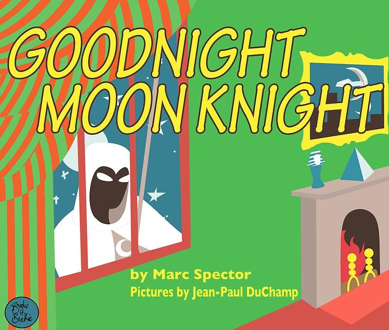 Goodnight Moon Knight By Clockworkmonkey Redbubble