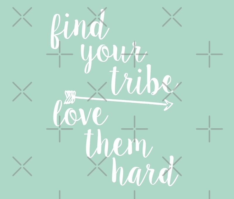 """Download """"Find Your Tribe. Love Them Hard."""" Travel Mugs by Birch ..."""
