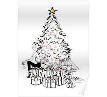 Poster do filme A Very Pink Christmas