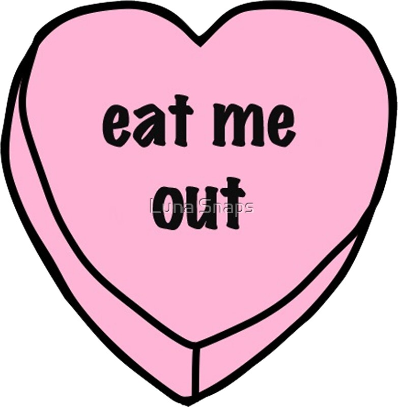 Eat Me Out Stickers By Luna Snaps Redbubble