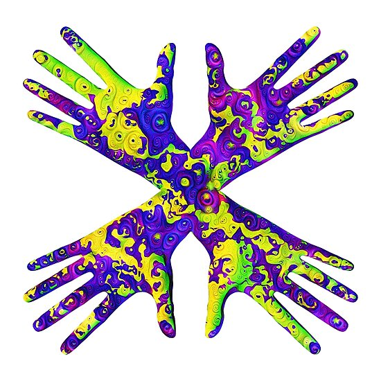 #DeepDream Painter's gloves 5x5K v1456325888