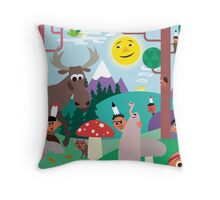 Hide and Seek – Throw Pillow