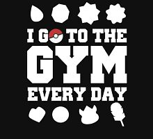 I go to the gym every day Pokemon Game Shirts