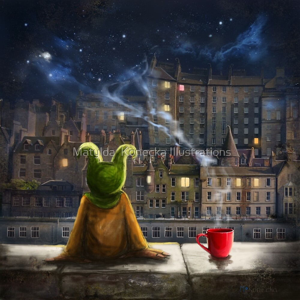 The Mist Maker By Matylda Konecka Art Redbubble