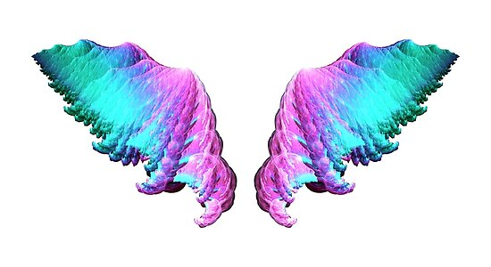 Wings #fractal art