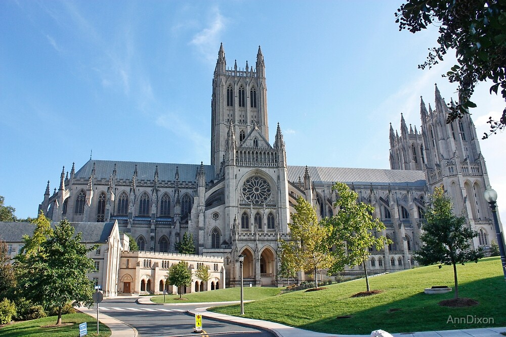 National Cathedral College Washington DC USA By