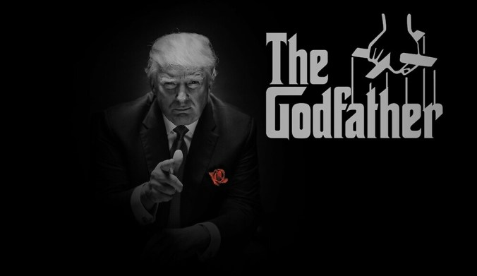 Image result for Trump as The Godfather