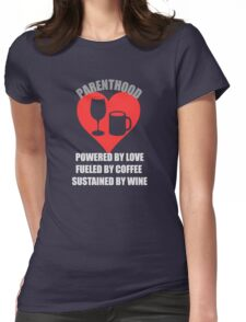 Love + Coffee + Wine = Parenthood T-Shirt