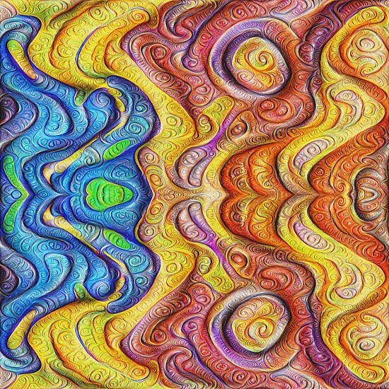 Mask #DeepDream #Art