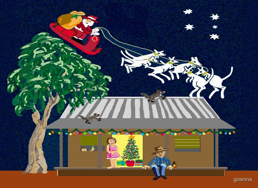 Six White Boomers Santa In Australia By Goanna Redbubble