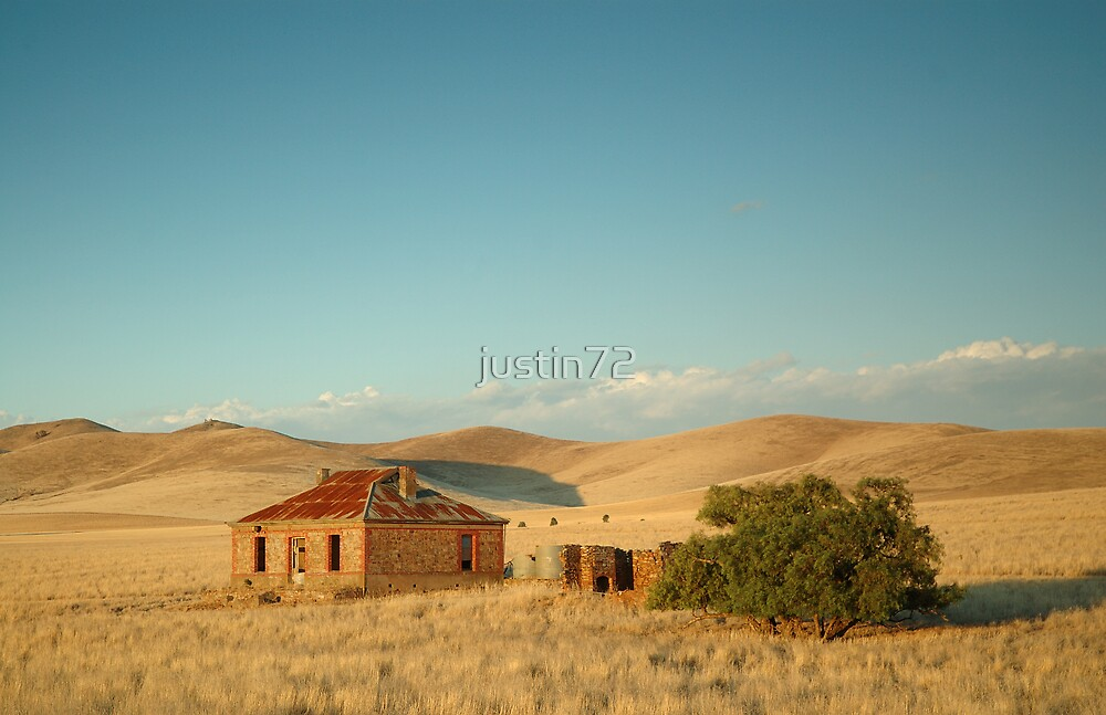 Deserted Farmhouse Burra South Australia By Justin72 Redbubble