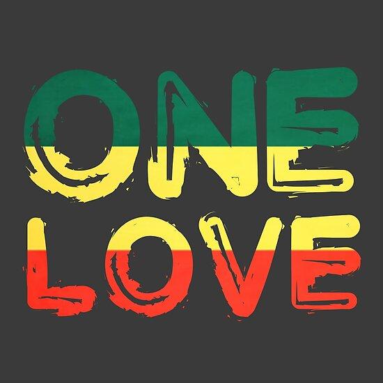 Ein Liebe Reggae Frieden Weed Rasta Chill Stoner Zitat