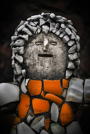 Product image link to buy 'Nek Chand Fantasy # 2' Photographic Print by Glen Allison