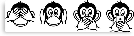 Image result for 4 wise monkeys