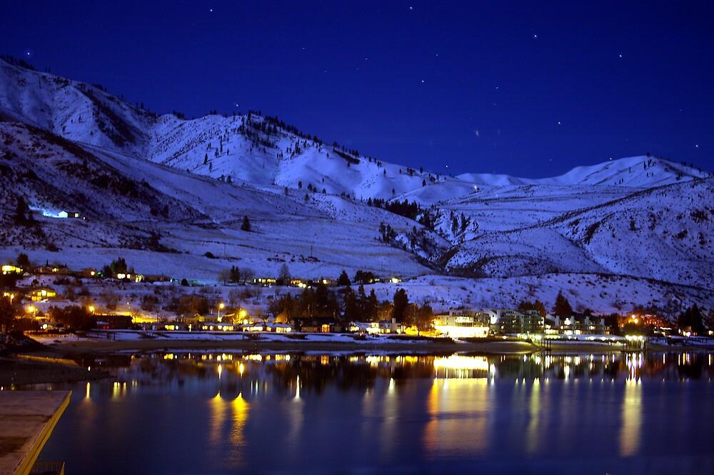 BEAUTIFUL LAKE CHELAN AT NIGHT By MsLiz Redbubble