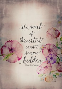 The Soul of The Artist on Poster, Art Print or Canvas
