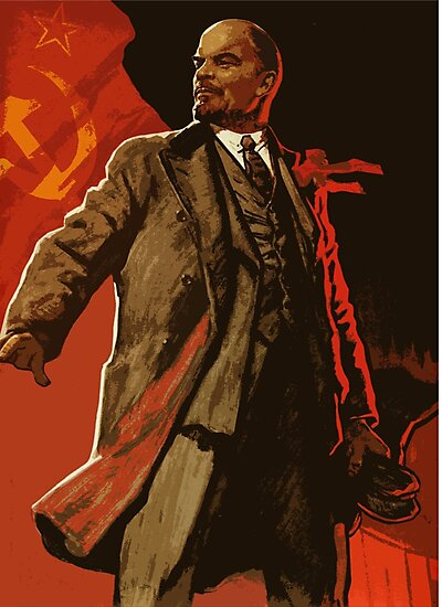 """Lenin and us - soviet union propaganda poster ..."