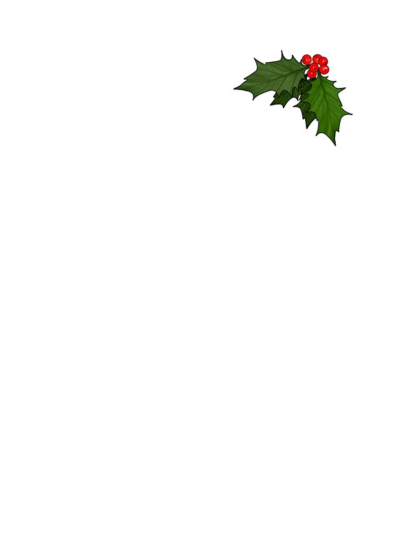 Small Holly Stickers By Carl Eyre Redbubble