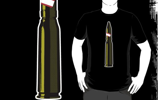 A Bullet with your name on it by nofrillsart