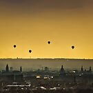 Four Balloons by Kraetzsche