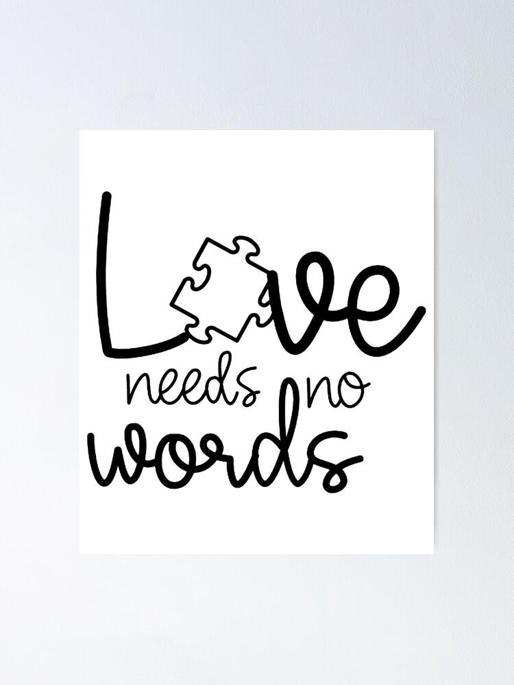 "Download ""Love Needs No Words Autism Awareness SVG File teacher ..."