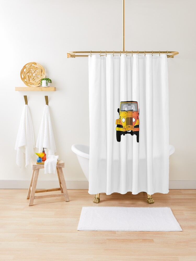 jeep shower curtain by samichjen99 redbubble