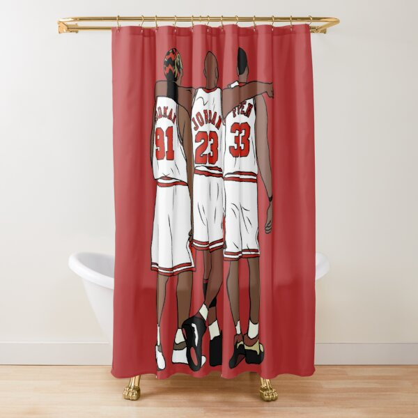 basketball shower curtains redbubble