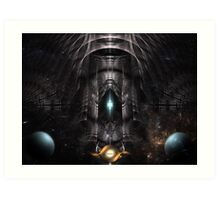 quotGalMech And The Moon Guardiansquot Framed Prints by xzendor7