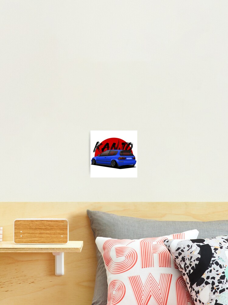 kanjo eg photographic print by turboosted redbubble