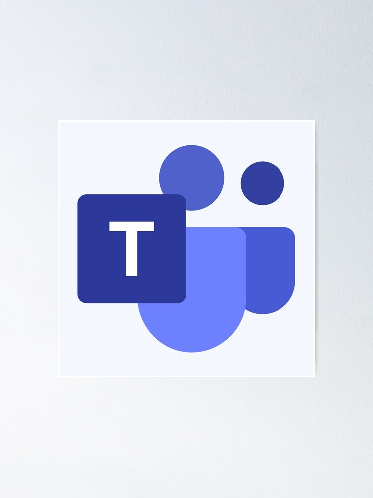 """""""Microsoft Teams Icon"""" Poster by AGM97 