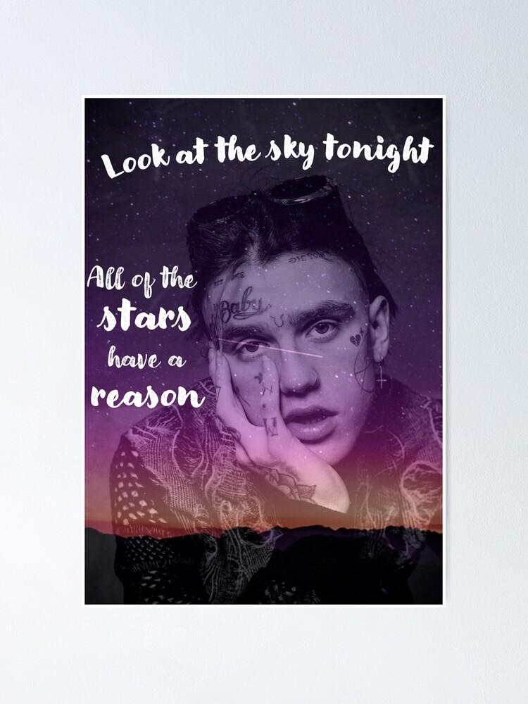 lil peep star einkaufen poster von twelvestudio redbubble