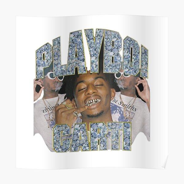 poster playboi carti redbubble
