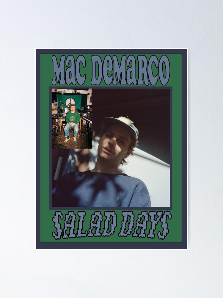 mac demarco salad days poster poster von kellen121 redbubble