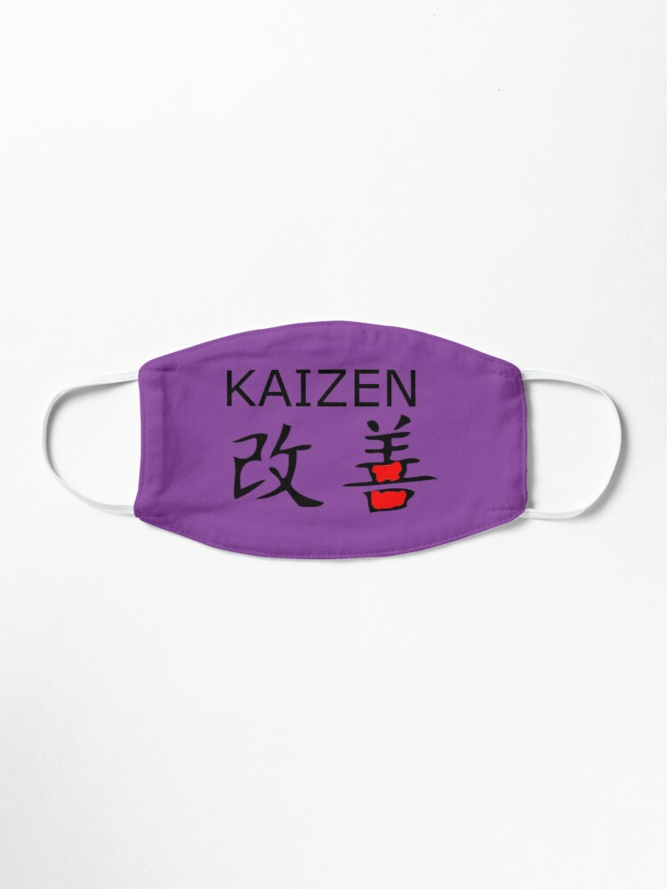 kaizen mask by speckle redbubble