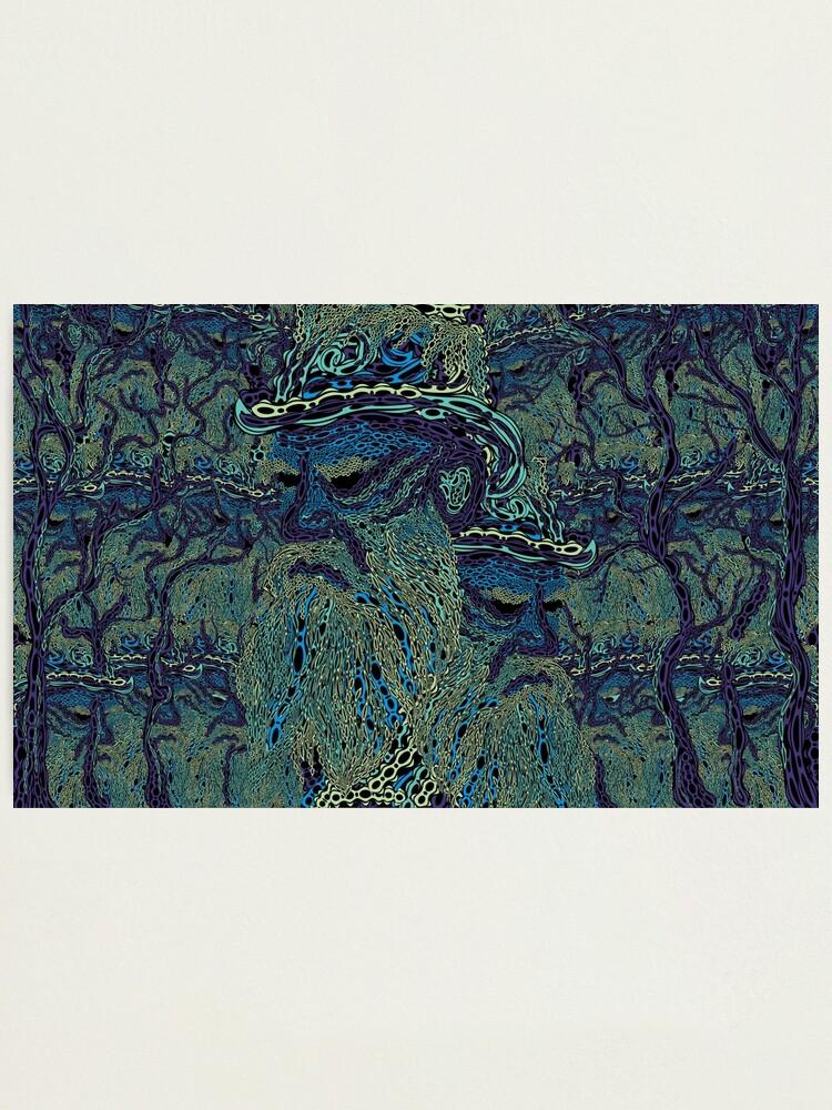 impression photo tolstoi fond d ecran psychedelique par grebenru redbubble