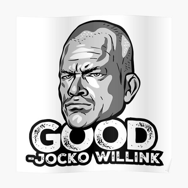 jocko willink good discipline equals freedom poster by bluedeerdesigns redbubble