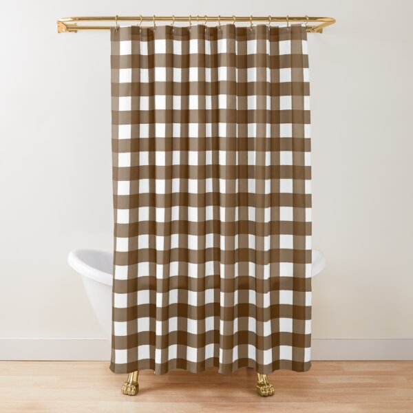 chocolate shower curtains redbubble