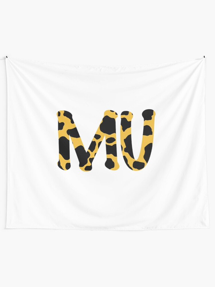 mizzou cow print tapestry by tarrileydesign redbubble