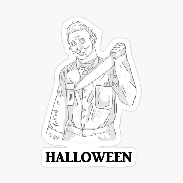 """Halloween / Michael Myers"""" Greeting Card by creep-jerky  Redbubble"""