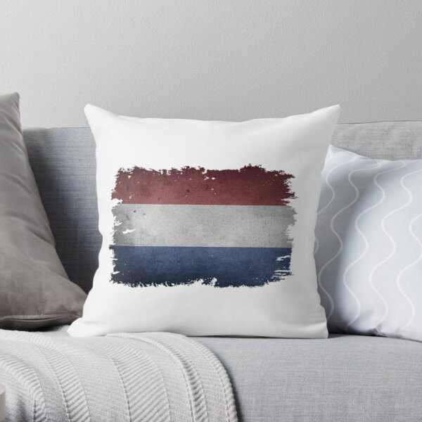 flag of netherlands pillows cushions redbubble