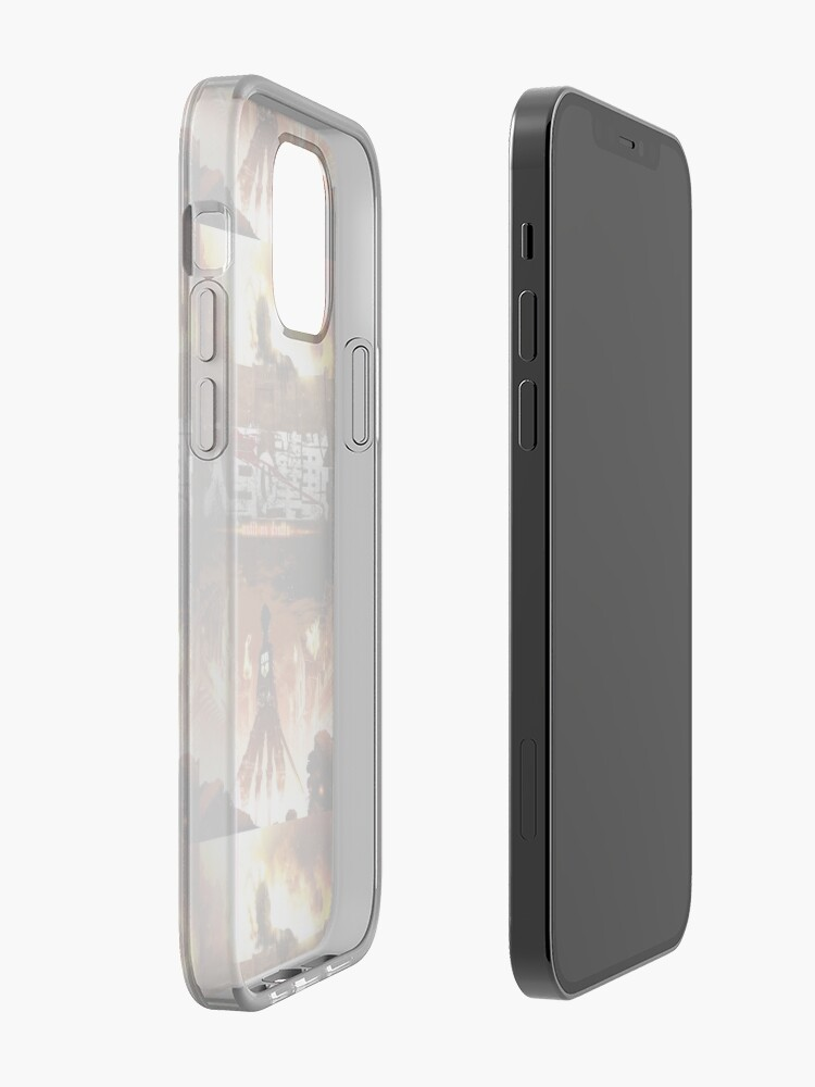 Anyone has a cool attack on titan wallpaper for iphone 11 pro max? Coque iPhone « Attaque sur Titan Poster », par SushiTime ...