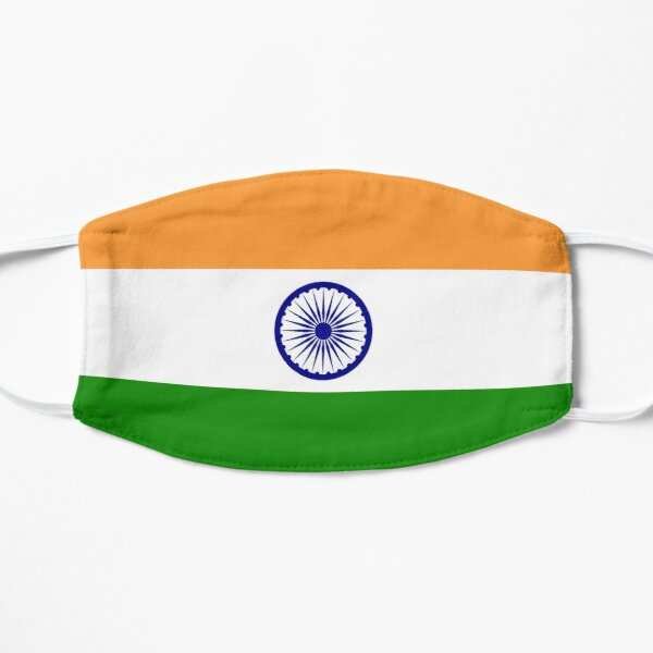 India India Flag The National Flag Of India Pure Simple Mask By Tomsredbubble Redbubble