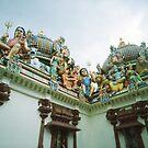 Hindu temple sculptures