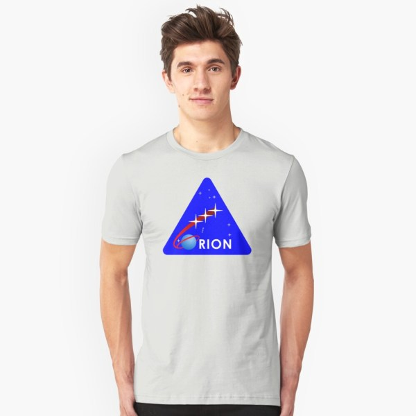 """""""Project Orion NASA"""" T-shirt by 5thcolumn   Redbubble"""