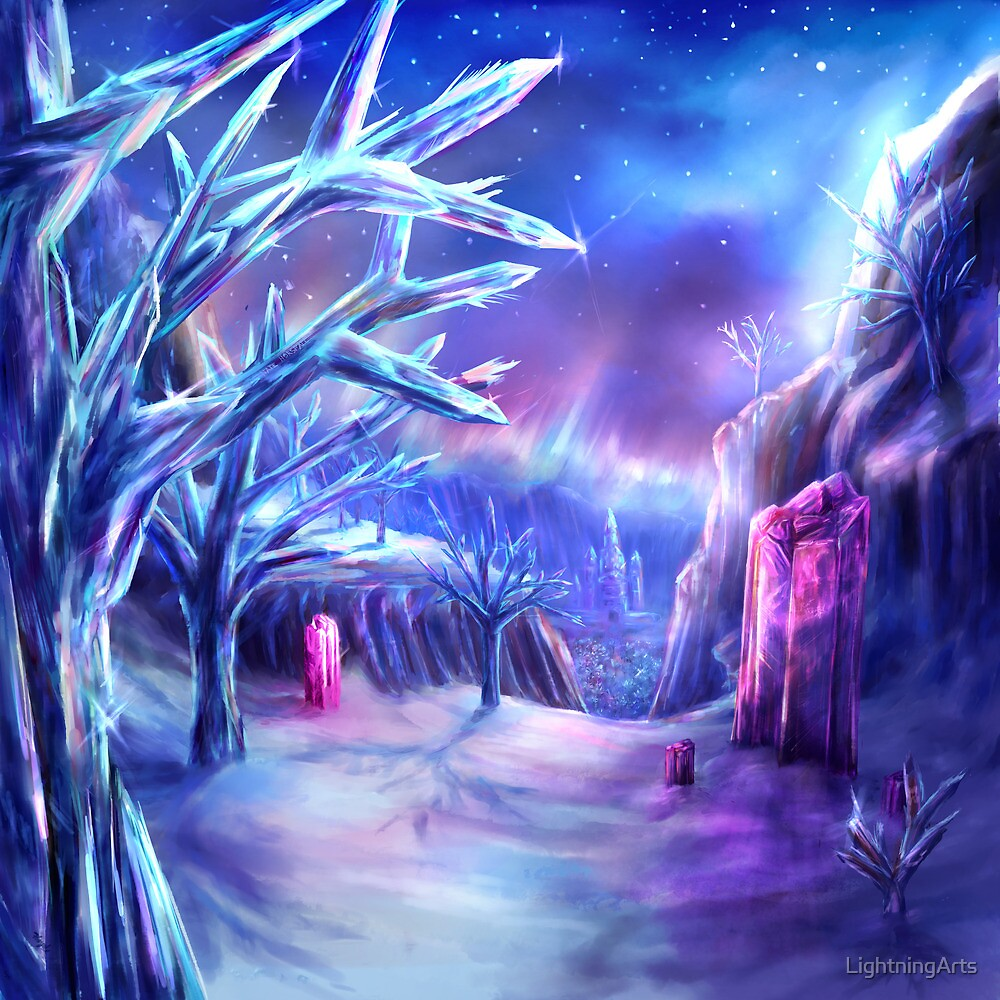 Spectrum Of Mana Crystal Forest By LightningArts