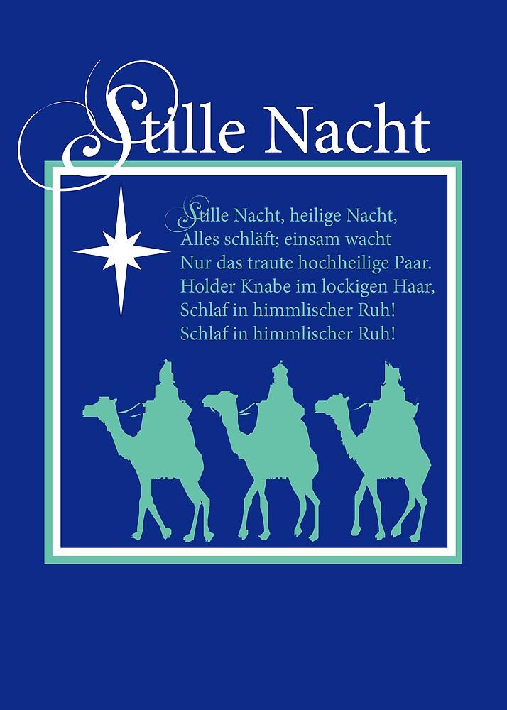 Stille Nacht Christmas German Silent Night By