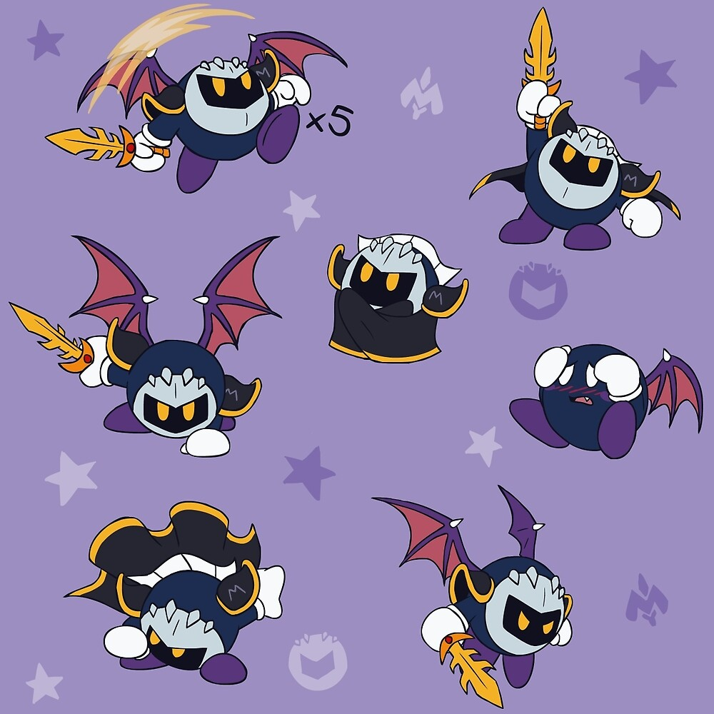 Chibi Meta Knight By VibrantEchoes Redbubble