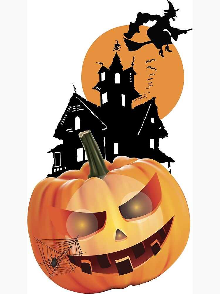 """To help, we've researched the best save the dates. """"Happy Halloween day 2021"""" Canvas Print by ayoubyaatik 